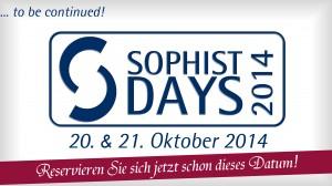 Sophist Days 2014