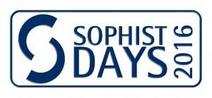 SOPHIST DAYS 2016 Logo zentriert