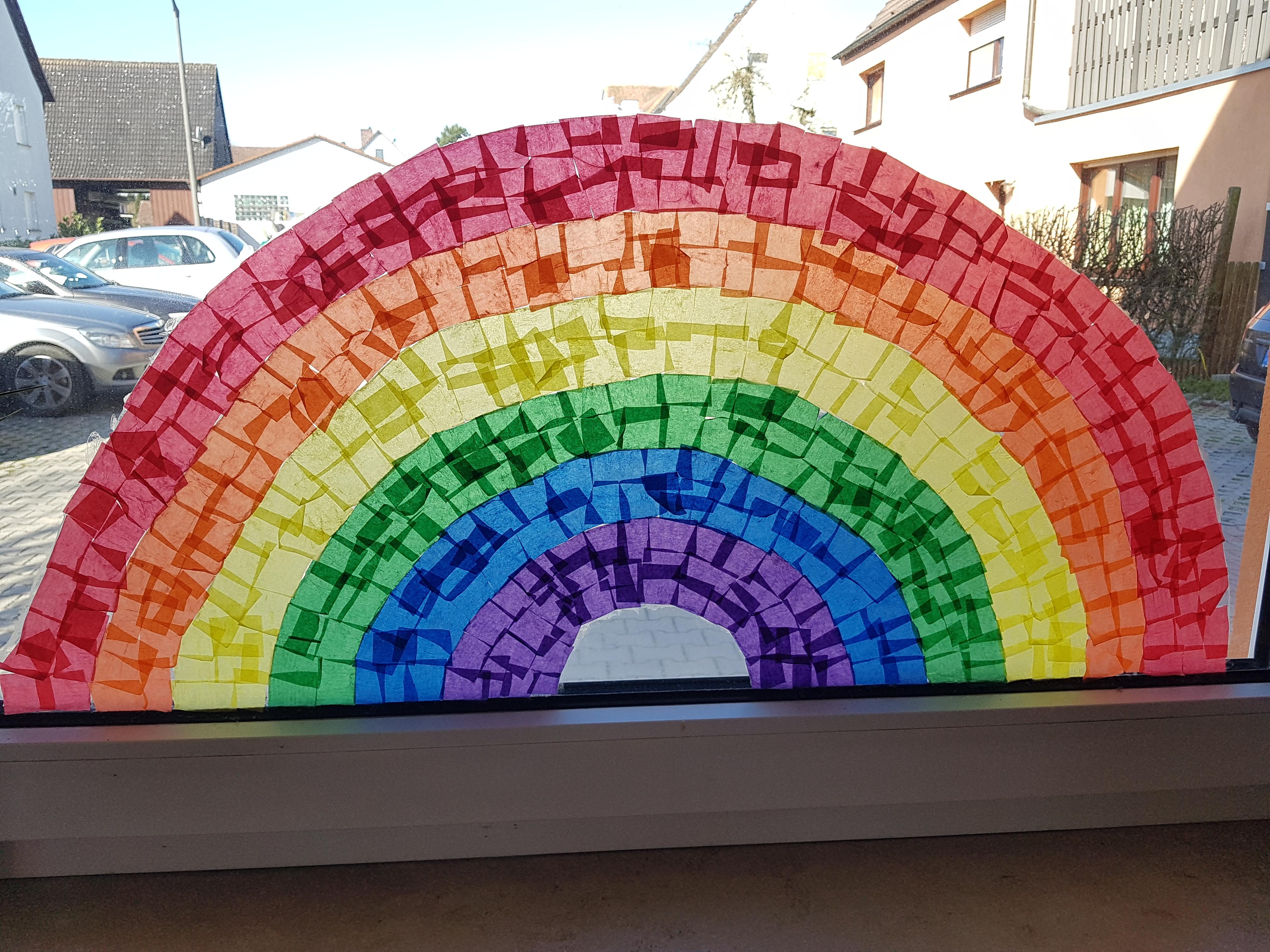 Regenbogen Fenster